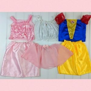 Girls Disney Snow White Princess Outfits 4-6X
